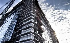 Fatade ventilate din granit la AFI Palace Cotroceni - Glass